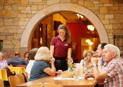 Gastlichkeit im Weingut Wilker