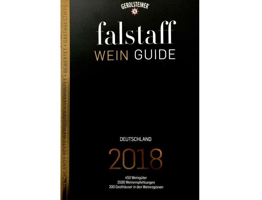 Vertreten im falstaff Weinguide Deutschland 2018