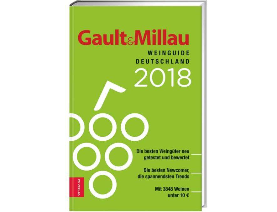 Empfohlen im Gault & Millau Weinguide Deutschland 2018